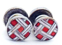 Superbes boutons de manchette Brummell 1930