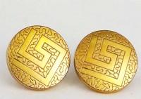 Beaux boutons de manchette Charles Murat 1880