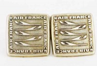 Boutons de manchette Air France anciens