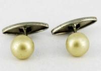Perle et métal blanc 1920