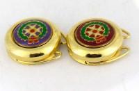 Couvre-boutons dorés italiens