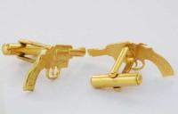 Boutons de manchette pistolets
