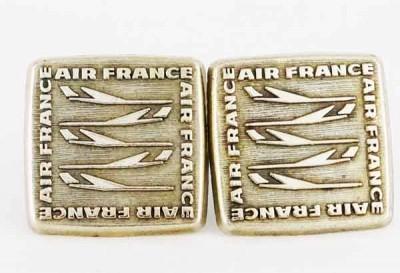 Boutons de manchette Air France anciens